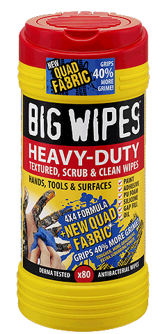 Big Wipes Heavy-Duty 80 Wipe Tub